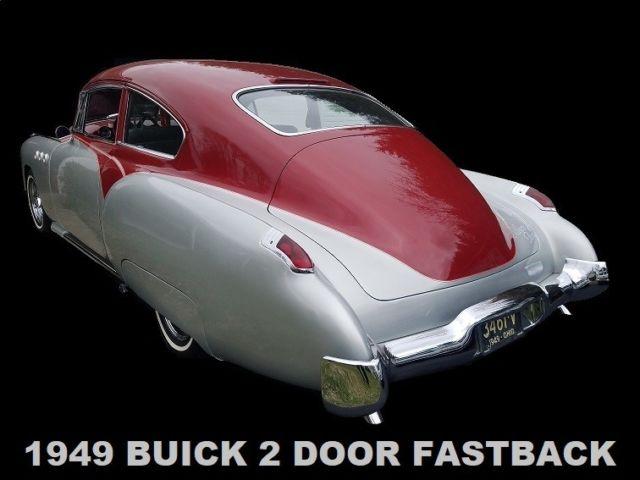 1949 Buick Custom Fastback Trade Corvette Mustang 1948