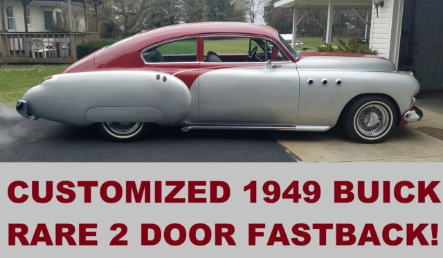 1949 Buick Custom Fastback Trade Corvette Mustang 1948
