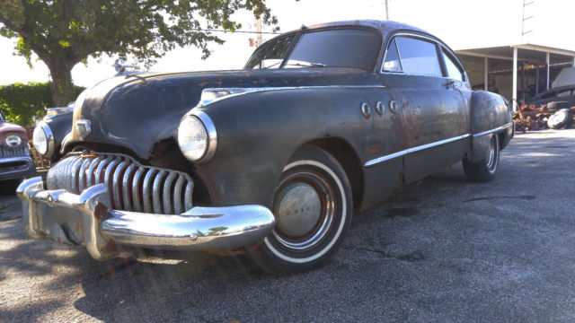 1949 buick super roadmaster sedanette patina rat rod. Black Bedroom Furniture Sets. Home Design Ideas
