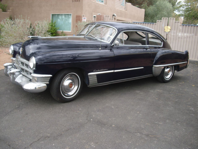 1949 cadillac model 61 2 door fastback 0823 49015