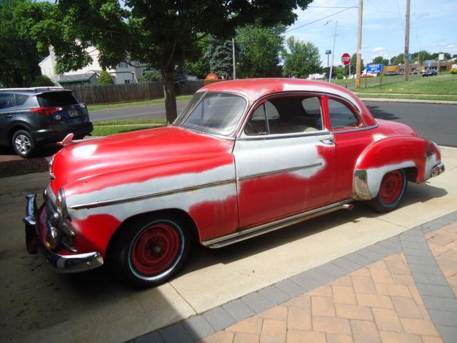 1949 Chevrolet Deluxe 2 Door Business Coupe Rat Rod Gasser