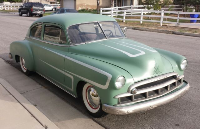 1949 chevrolet fleetline 2 door chevy v8 350 fastback