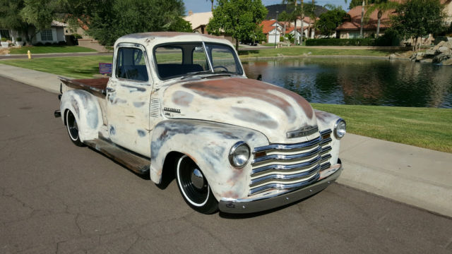 1949 chevrolet pickup hot rod v8 4spd auto all new rat truck look 49 chevy truck classic. Black Bedroom Furniture Sets. Home Design Ideas