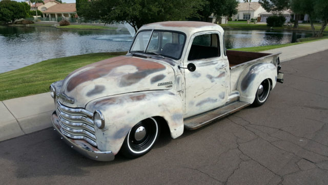 1949 Chevrolet pickup hot rod v8 4spd auto all new rat ...