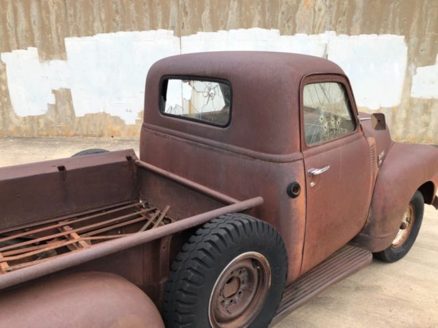 1949 Chevy 3 Window Truck NO RESERVE Barn Find PATINA Rat ...