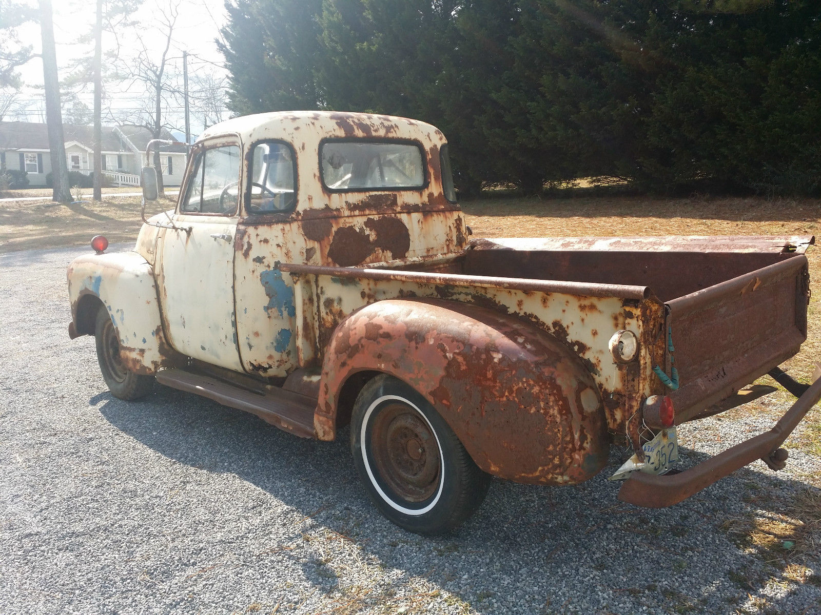1949 Chevy 3100 5 Window Short Bed Great Patina Classic Chevrolet Pickup Truck Prevnext