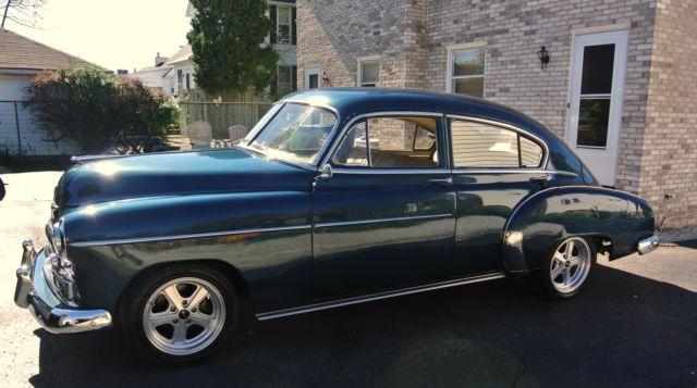 1949 Chevy Fleetline Sedan Hotrodstreetrodcustom