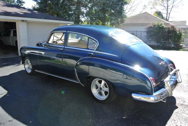 1949 Chevy Fleetline Sedan Hotrod Streetrod Custom