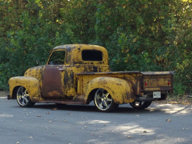 1949 Chevy Pickup Rat Rod Hot Rod 5 3 LS Swap Classic