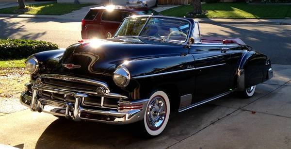 1949 Chevy Skyline Deluxe Convertible Classic Chevrolet