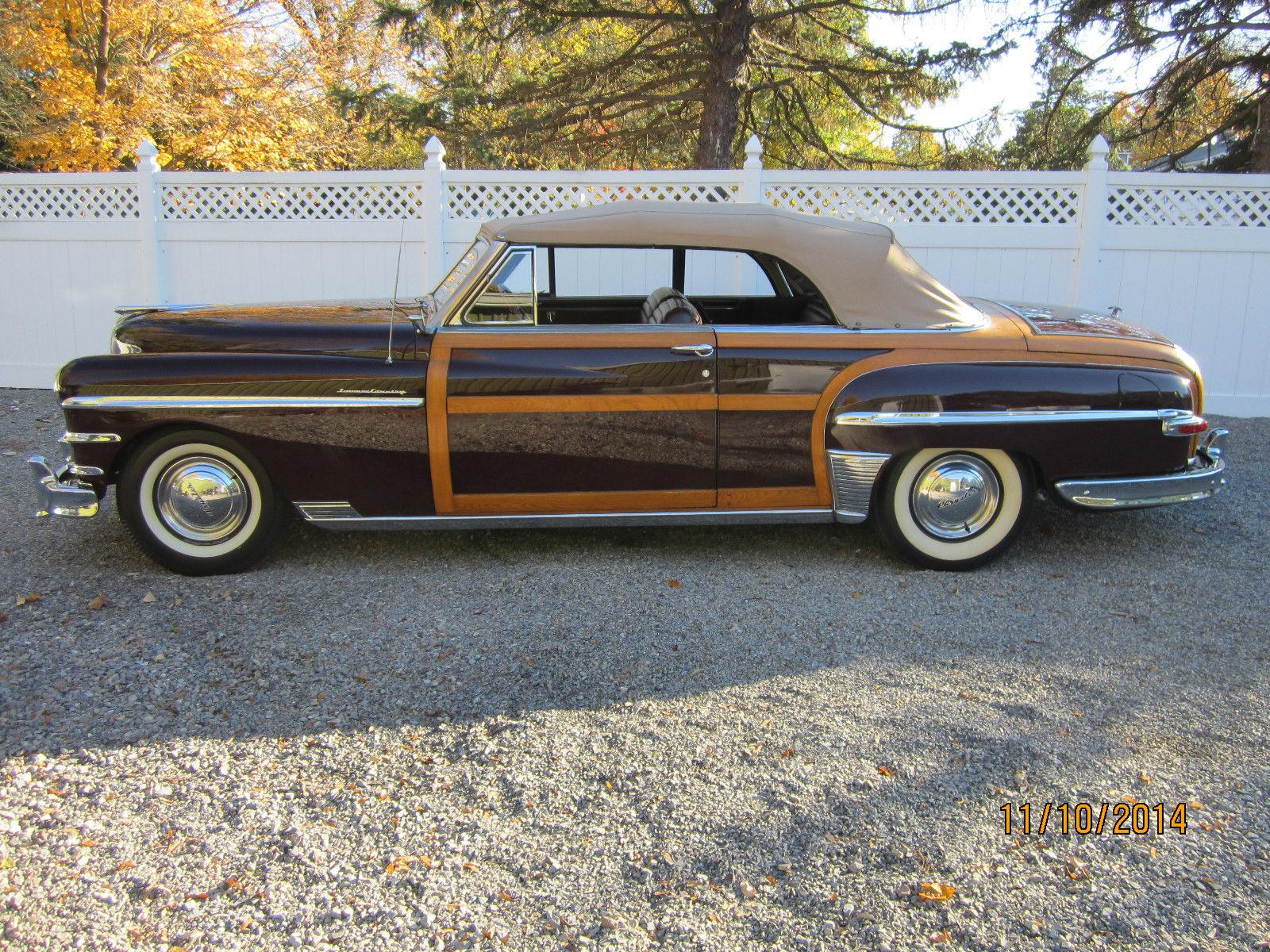 1949 Chrysler Town Country Convertible Classic Prevnext
