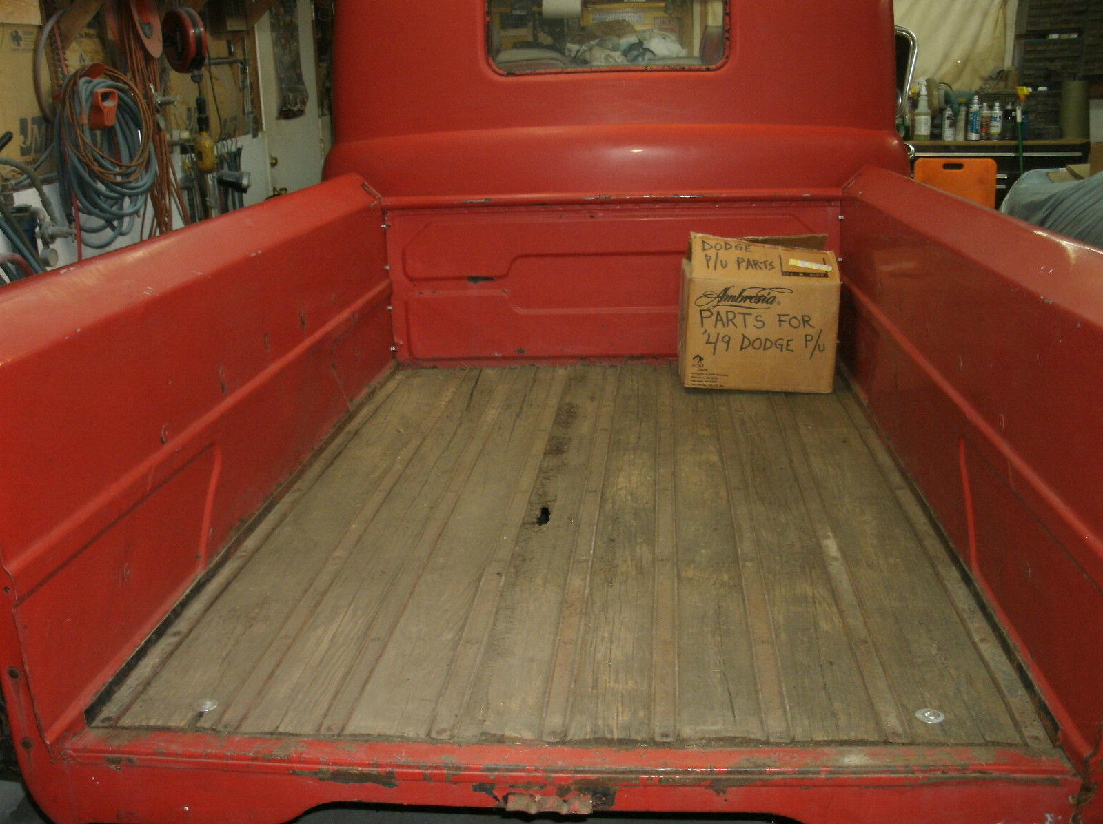 1949 Dodge 1 2 Ton Pickuplow Miles Classic Other Pickups Stake Bed Truck Prevnext