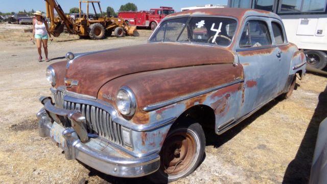 1949 dodge desoto custom club coupe no reserve for 1949 dodge 2 door sedan