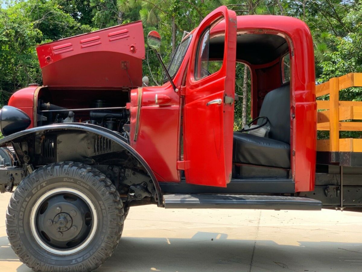 1949 Dodge Power Wagon Flatbed Pickup Truck Classic Dodge Power Wagon 1949 For Sale