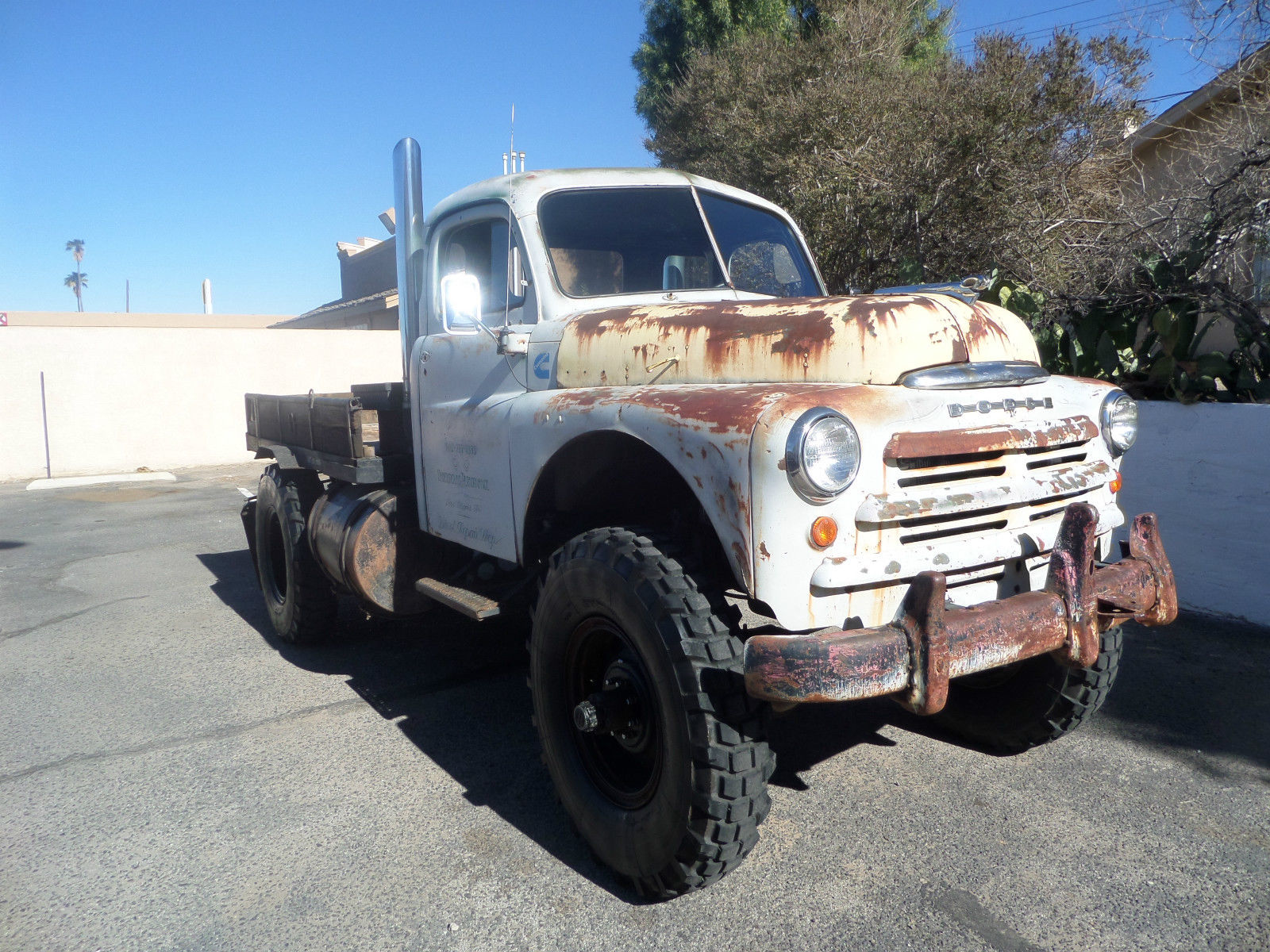 1949 Dodge Truck Cummins Diesel Power 4x4 Rat Rod Tow ...