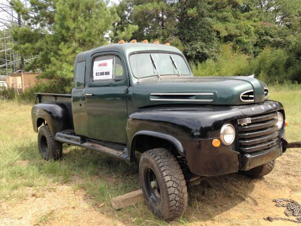 1949 Ford F 1 Classic Truck Extended Cab 4x4 F1 F100 49