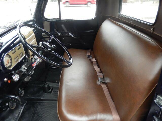 1949 Ford F47 Sheridan Blue Flat Head 8 4 Speed Frame Off