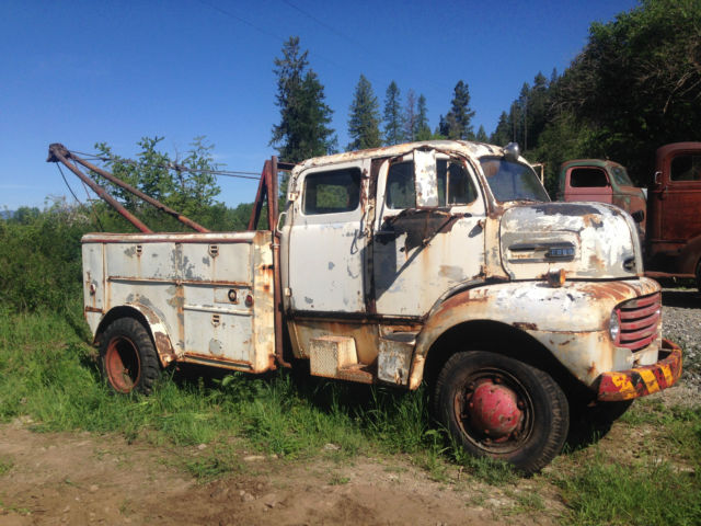Old 4 Door Trucks For Sale >> 1949 FORD F5 CrewCab COE Coleman 4x4 Boom Truck Cabover Chevy Dodge - Classic Ford Other 1949 ...