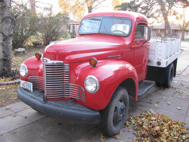 1949 International KB-5 1 1/2 Ton Truck - Classic