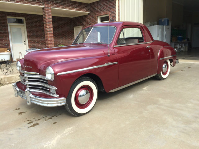 1949 Plymouth Business Coupe Body Off Restoration