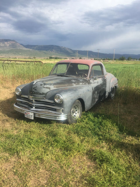 1949 plymouth business coupe hot rod rat rod rare barn. Black Bedroom Furniture Sets. Home Design Ideas