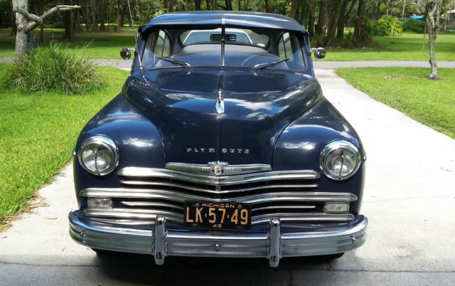 1949 plymouth p18 fastback 2 door 58 000 miles classic. Black Bedroom Furniture Sets. Home Design Ideas