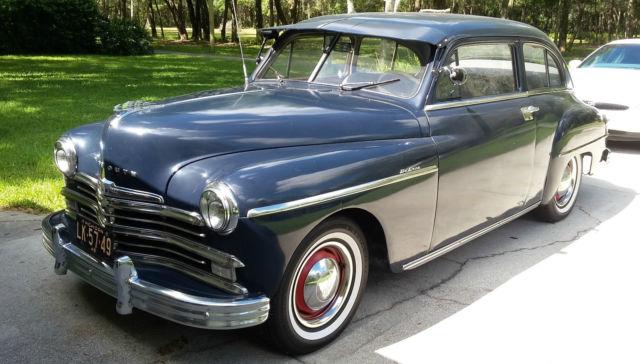 1949 plymouth p18 fastback 2 door 58 000 miles classic for 1949 plymouth 2 door sedan
