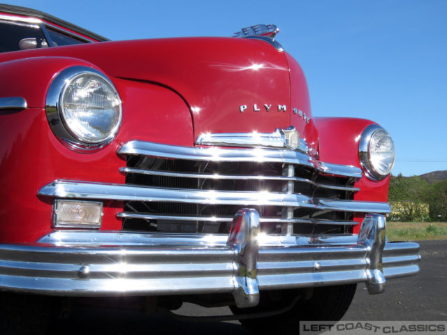 1949 Plymouth Special Deluxe Convertible Runs Great
