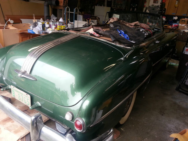 1949 pontiac chieftain silver streak convertible straight