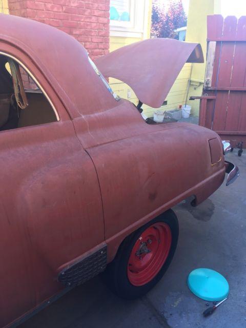 1949 Studebaker Commander 4 Door Rear Hinges 6 Cylinder