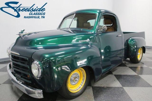 1949 Studebaker Pickup 2724 Miles Green Metallic Pickup Truck 5 0