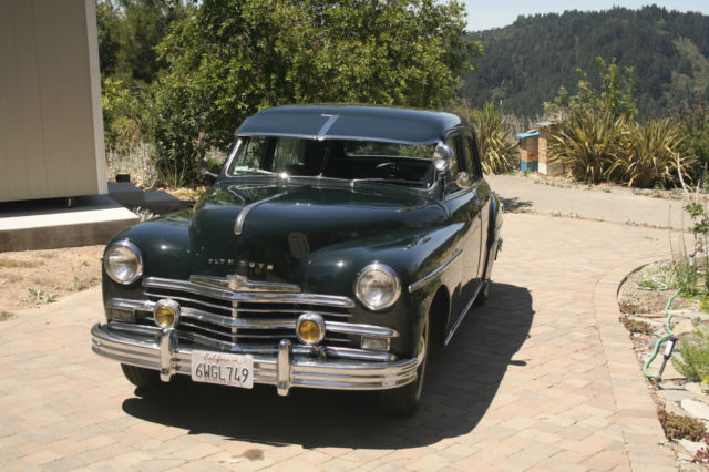1949 vintage antique 4 door plymouth car deluxe base 3 6l for 1949 plymouth special deluxe 4 door
