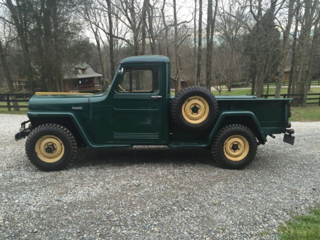 Used Cars Spartanburg Sc >> 1949 Willys 4WD Pickup - Classic Willys Pickup 1949 for sale