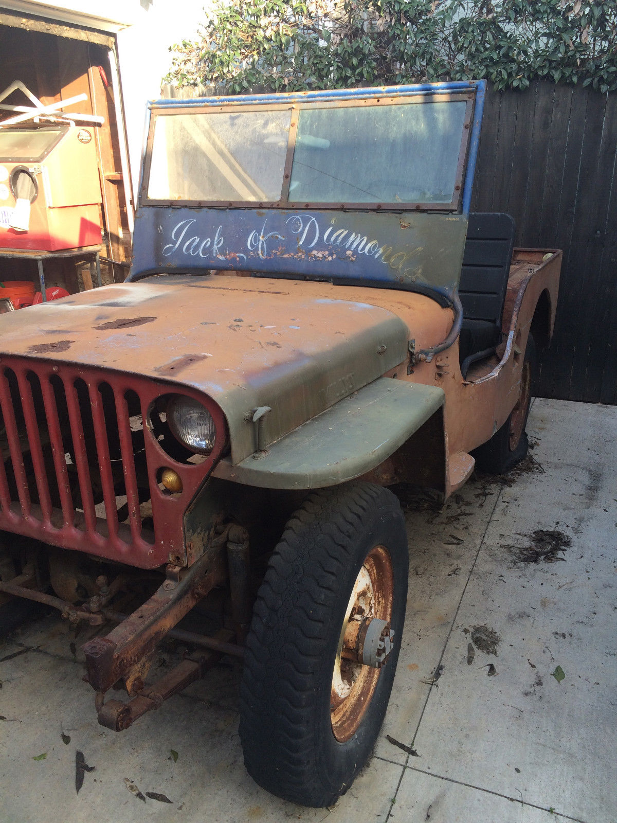 1949 willys cj3a 4x4 jeep like mb project vehicle classic willys cj3a 1949 for sale. Black Bedroom Furniture Sets. Home Design Ideas