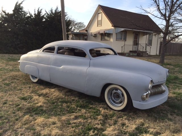 1950 49 51 Mercury Custom Chopped Rat Rod Street Rod