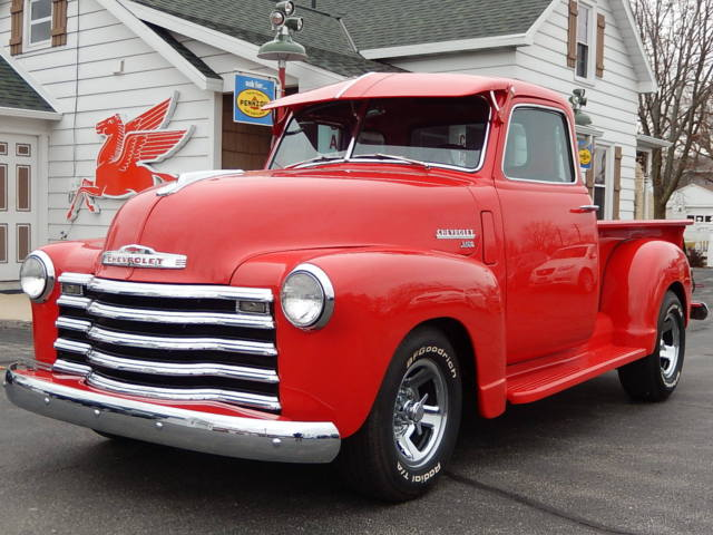 1950 50 chevy 3100 deluxe 5 window 235 6 cylinder manual chrome restored classic. Black Bedroom Furniture Sets. Home Design Ideas