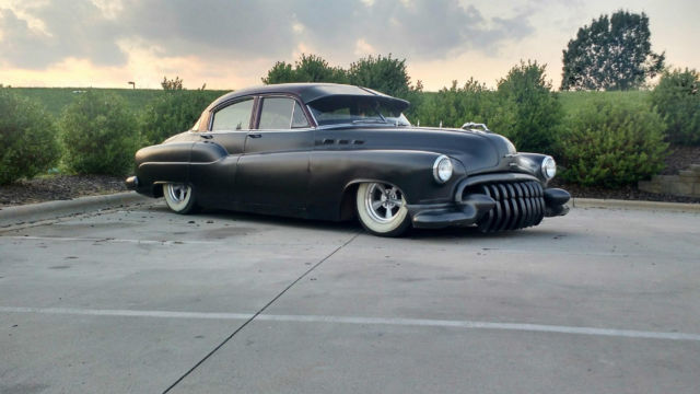 1950 Buick Lead Sled Bagged Air Ride Hot Street Rat Rod ...