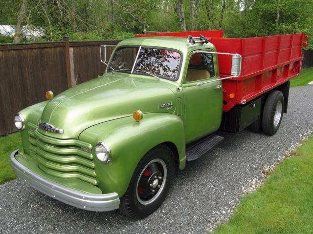 1950 Chevrolet 2.5 Ton 6400 Series Dump Truck - Classic ...