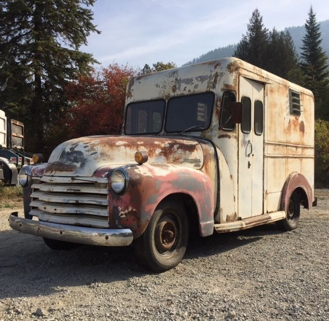 Semi Truck Tires Near Me >> 1950 Chevrolet 3100 1/2 Ton Herman Body Milk Delivery ...