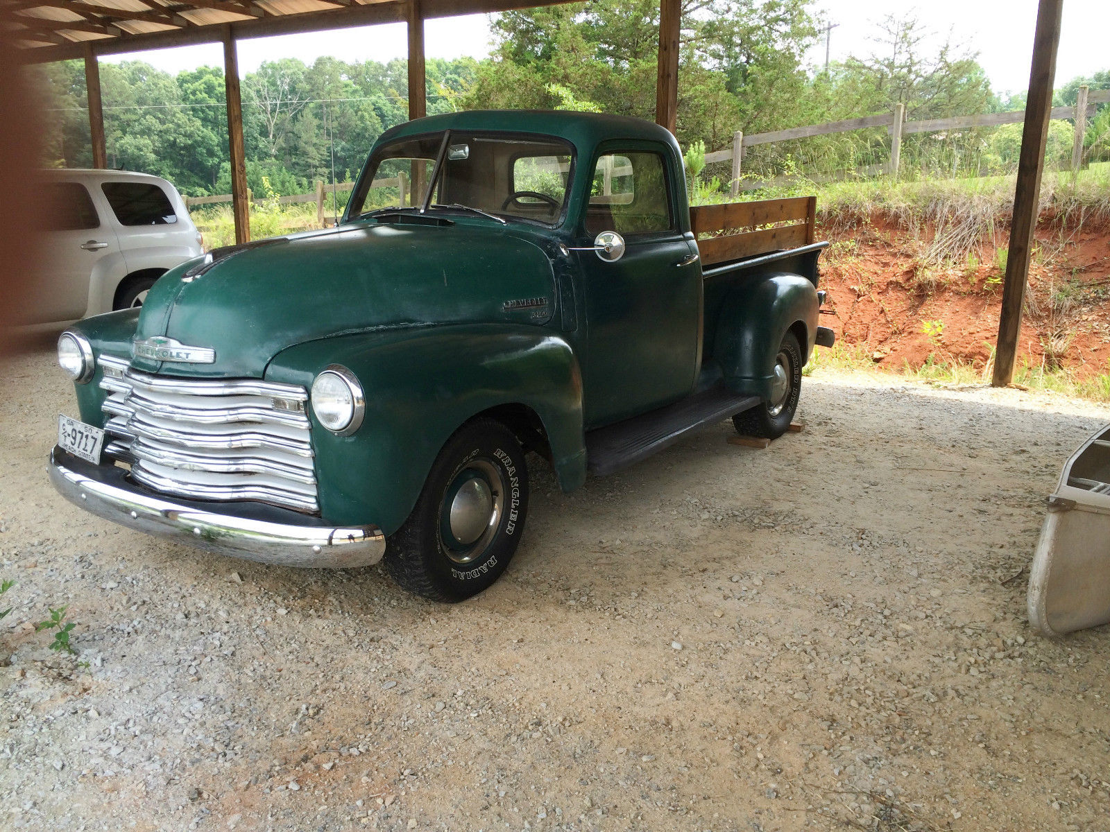 Ga Bill Of Sale For Car >> 1950 Chevrolet 3100 Pickup Truck - Runs Great! - Classic ...