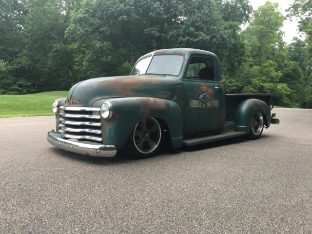 1950 Chevrolet 3100 Rat Truck Patina Shop Truck Hot Rod