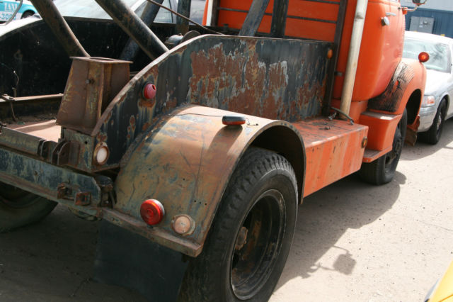 1950 Chevrolet 5400 COE Tow Truck Wrecker 2 Ton Chassis ...