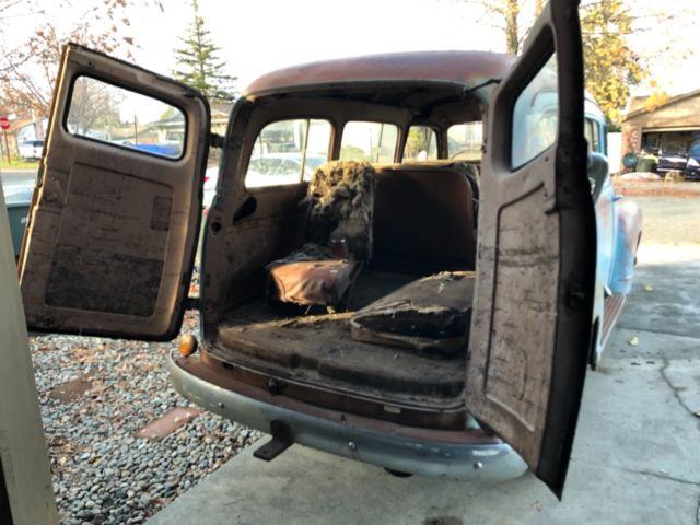 1950 Chevrolet Carryall Suburban 1949 1951 1952 1953 1948