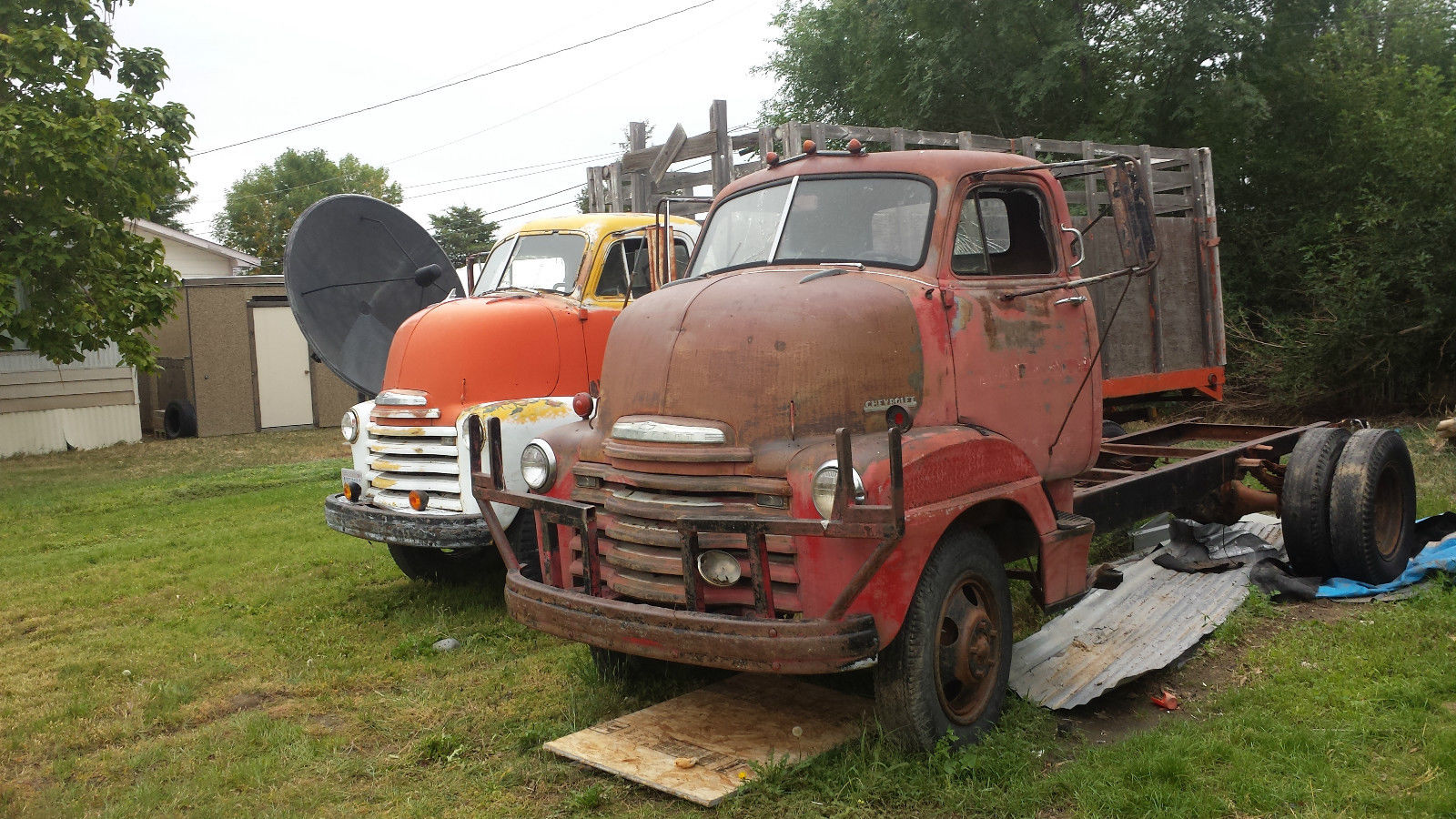 1950 Chevrolet COE CABOVER 2 TON DUALLY RATROD HOT ROD ...