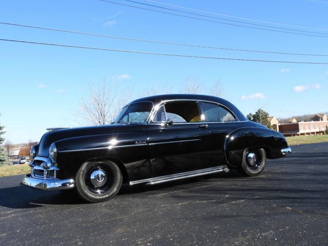 1950 chevrolet deluxe styleline 2 door custom resto mod for 1950 chevy deluxe 2 door