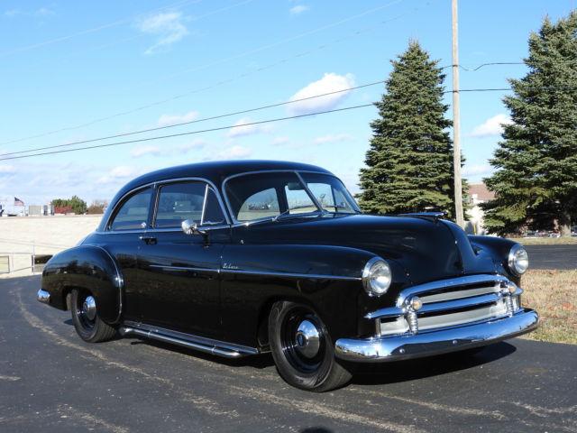 1950 chevrolet deluxe styleline 2 door custom resto mod for 1950 chevrolet 2 door