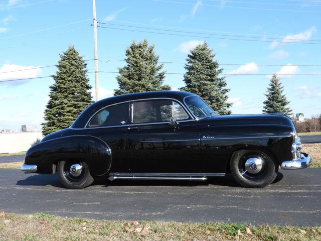 1950 chevrolet deluxe styleline 2 door custom resto mod for 1950 chevy 2 door sedan