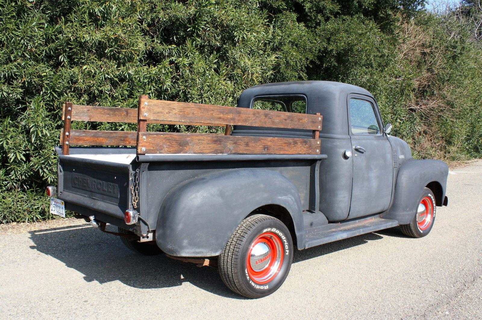 1950 Chevrolet Pickup V8 Hot Rod 1948 1949 1951 1952 1953 1954 1955 Chevy Truck Dash