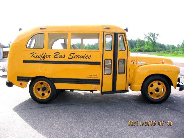 1950 Chevrolet School bus VINTAGE - Classic Chevrolet Other