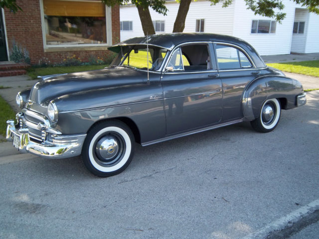 Cracked Engine Block >> 1950 Chevrolet Styleline Deluxe 4 door sedan - Classic ...